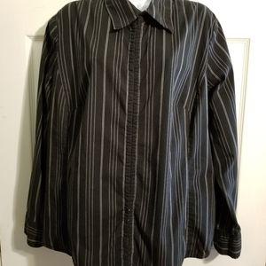 Lane Bryant Striped Dress Top